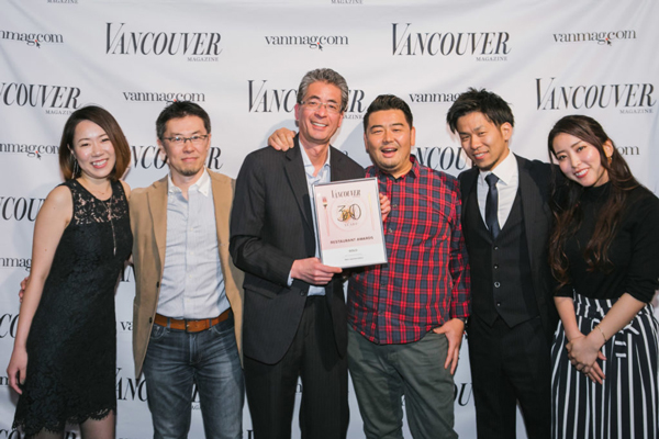 Best Vancouver Restaurant 2019
